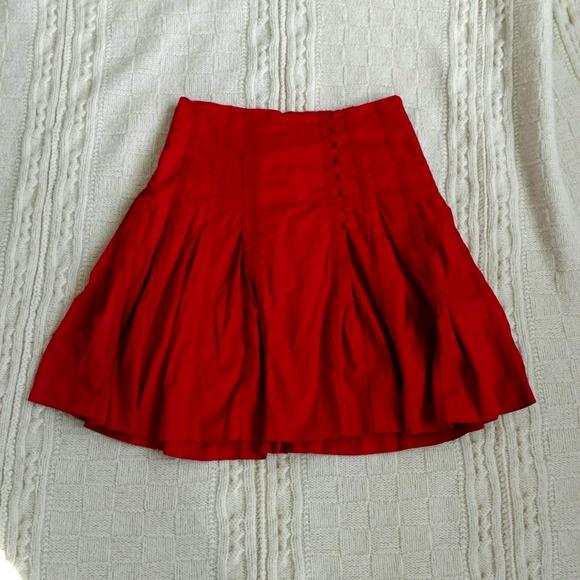 Ted Baker fit flare skirt